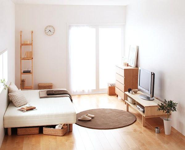 一人暮らし 家具 明るい