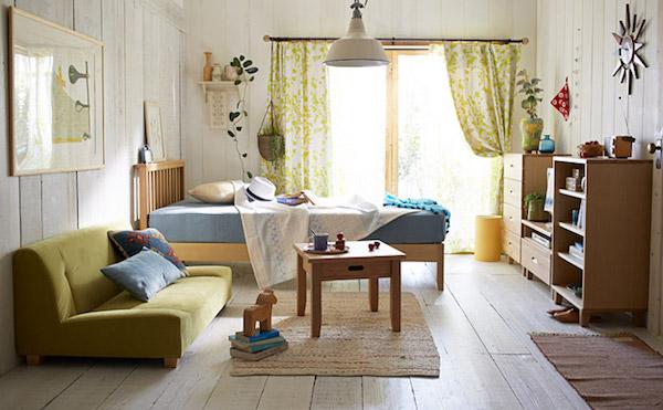一人暮らし 家具 配置 8畳横